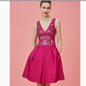 💕MARCHESA NOTTE COCKTAIL DRESS